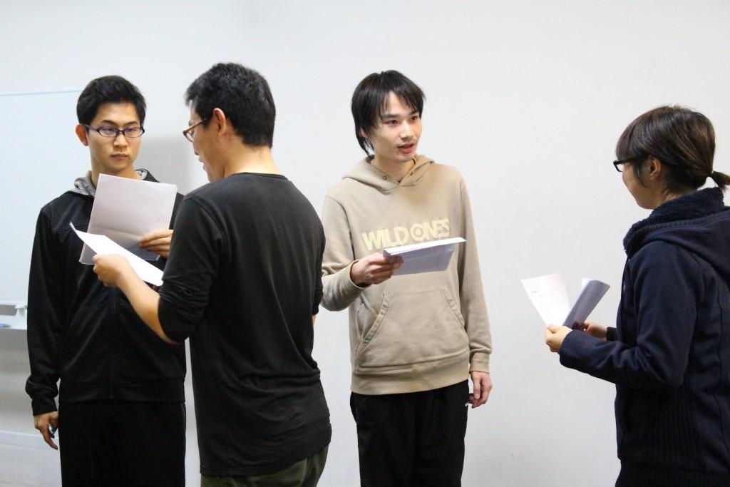 ショートスケッチ 稽古場